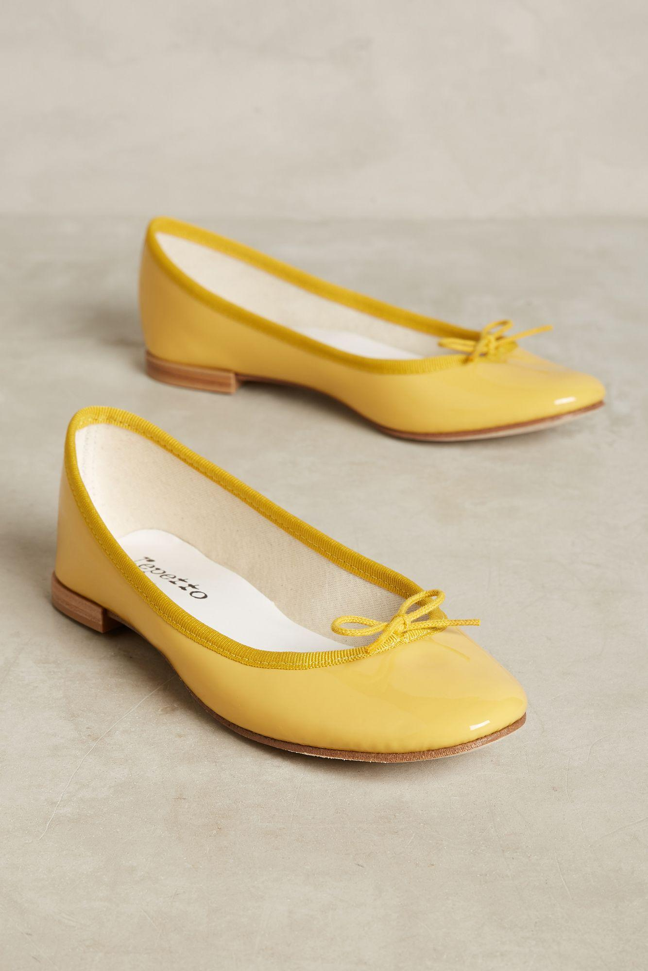Lyst Repetto Cendrillon Ballet Flats In Yellow