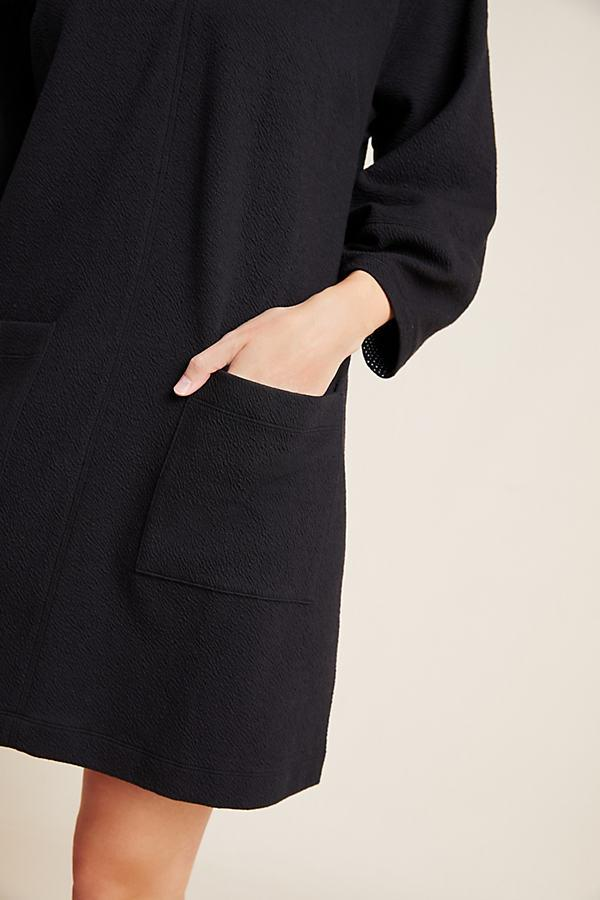 Chia Tunic Dress Maeve en coloris Noir