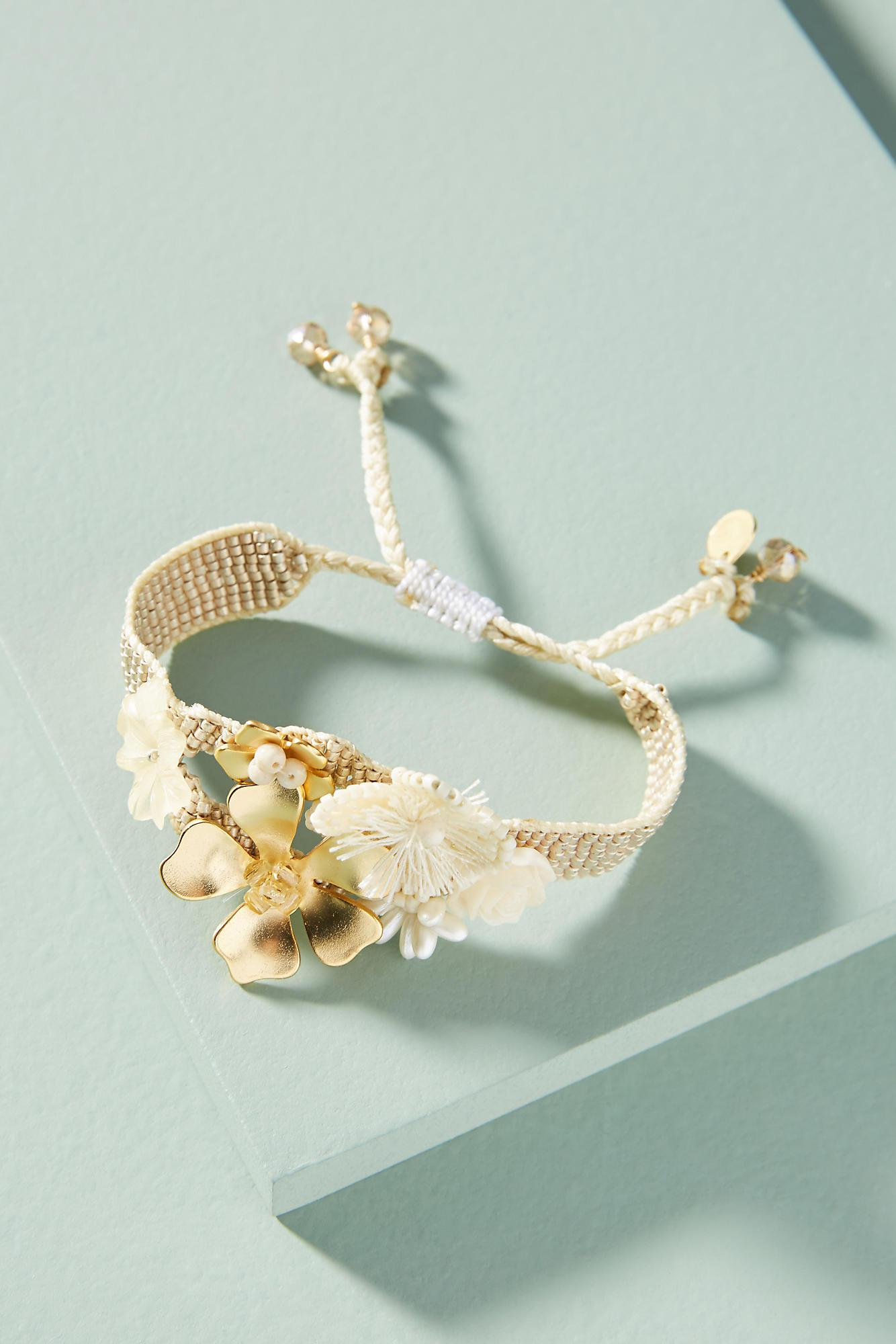 Mishky Coralina Flower Cuff mti01TJL