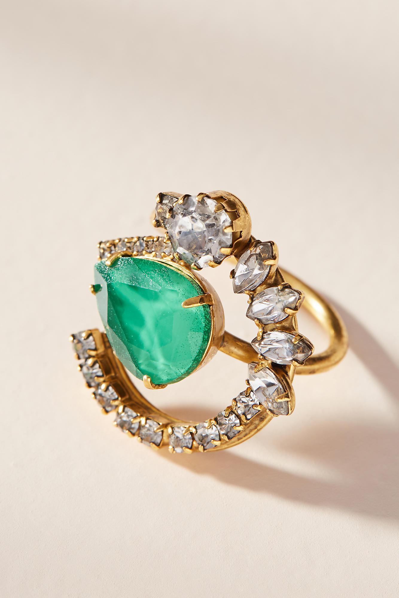 Elizabeth Cole Royal Verde Pin m0nQfLo4x