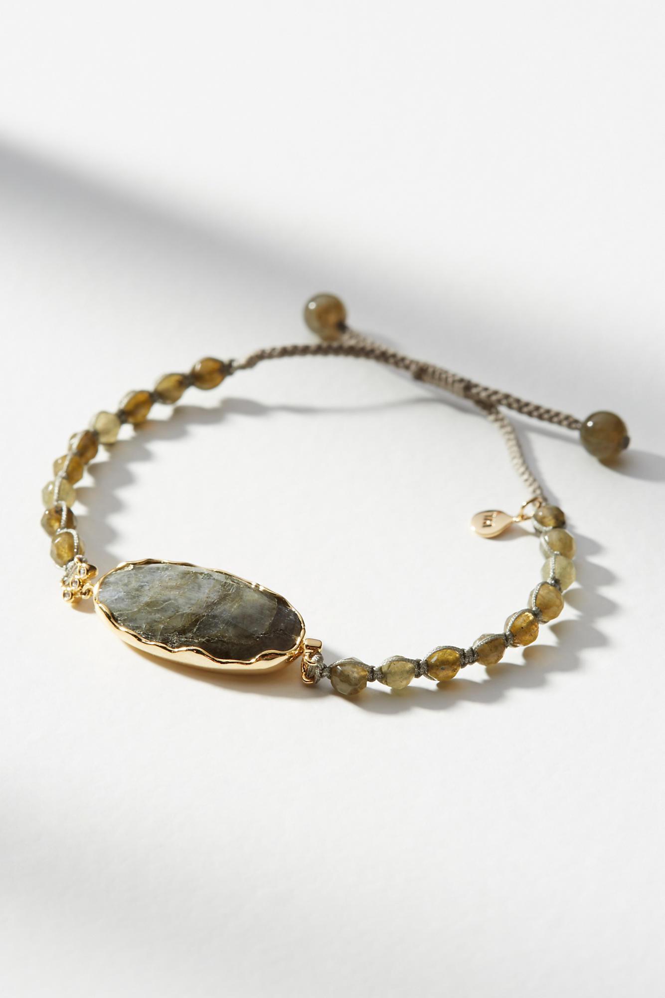 Anthropologie Adella Stone Bracelet zsshz8jGC