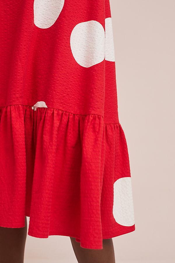 209decce7602 Anthropologie - Red Breiz Polka Dot Dress - Lyst. View fullscreen