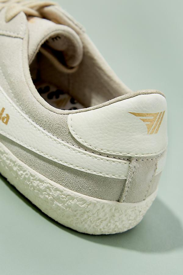 Gola Suede Specialist Trainers in White
