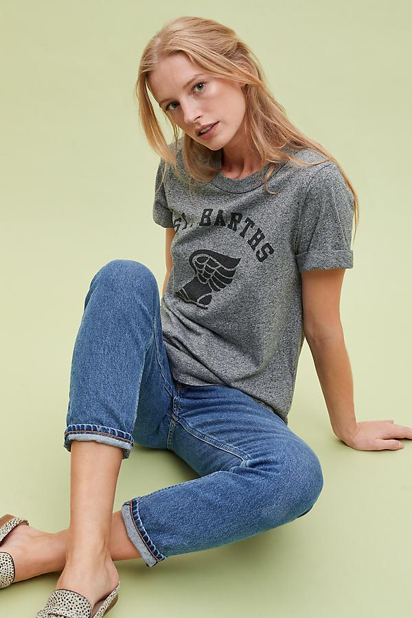 ecedceb1a Sol Angeles St. Barth's Graphic Tee in Gray - Lyst