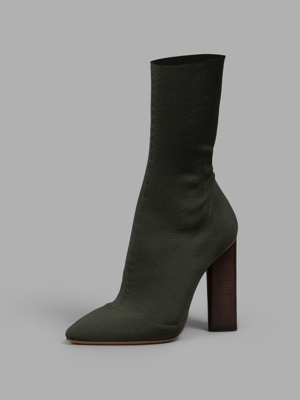 Yeezy Womenâ S Green Ankle Boots In Green