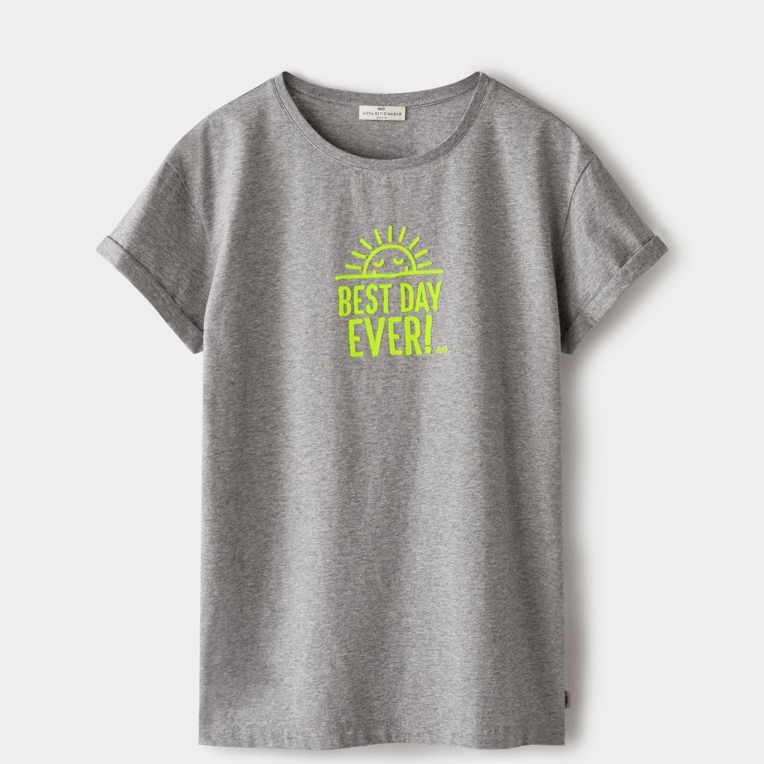 Anya Hindmarch Best Day Ever T-shirt dPMA8f9vCc