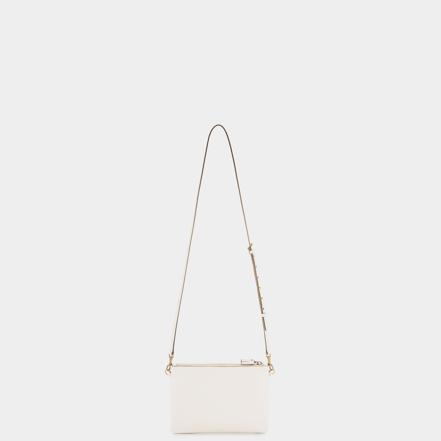 Anya Hindmarch Leather Crossbody Pouch Squeeze