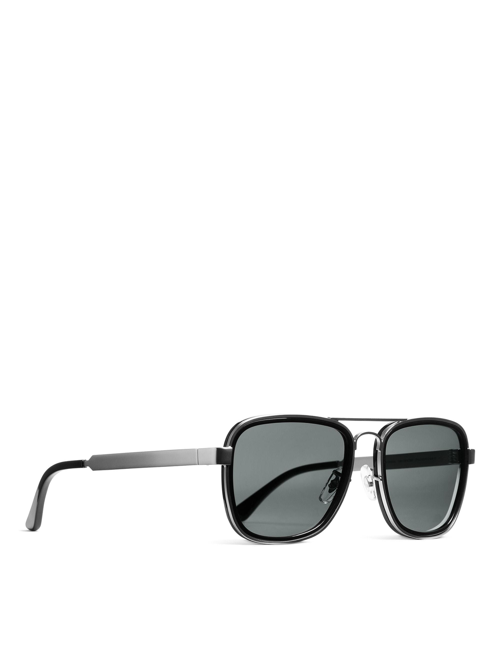 e30fc3a5c571 ARKET - Metallic Square Aviator Sunglasses for Men - Lyst. View fullscreen