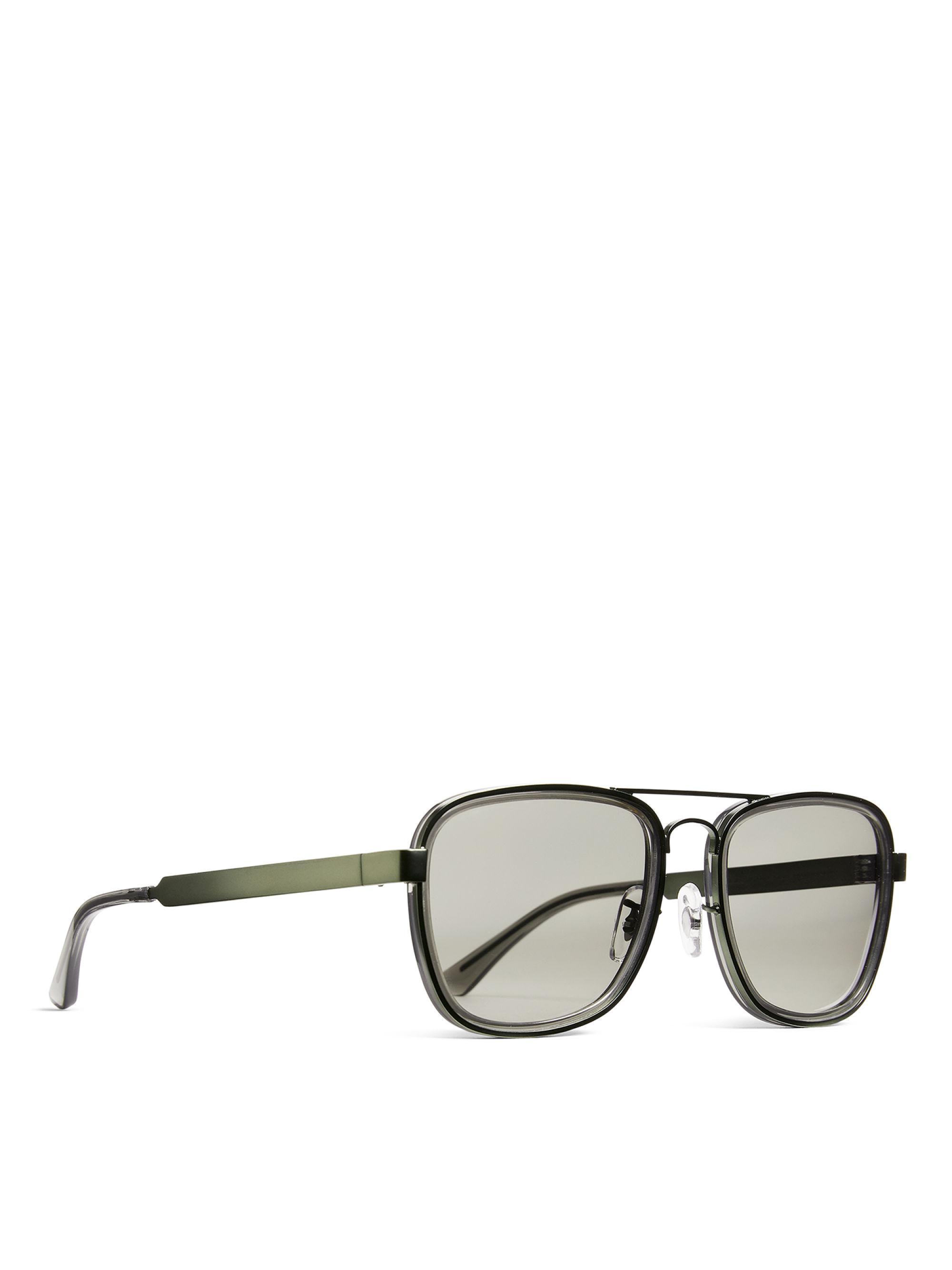 3c679c178af5 ARKET Square Aviator Sunglasses in Gray for Men - Lyst