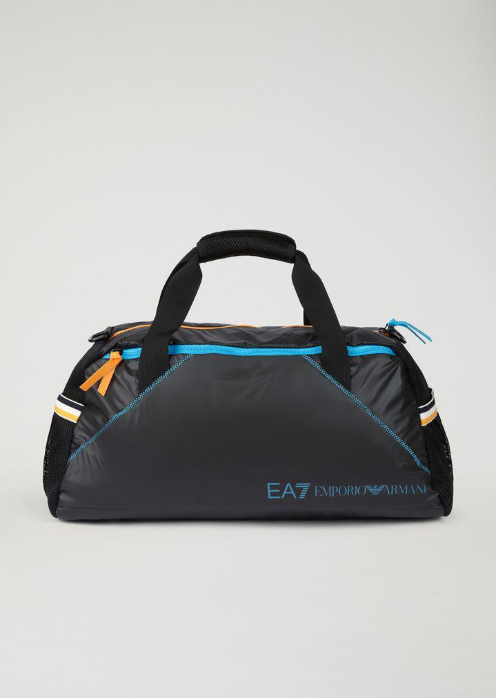 Lyst - Emporio Armani Gym Bag in Black for Men a66897ed3105e