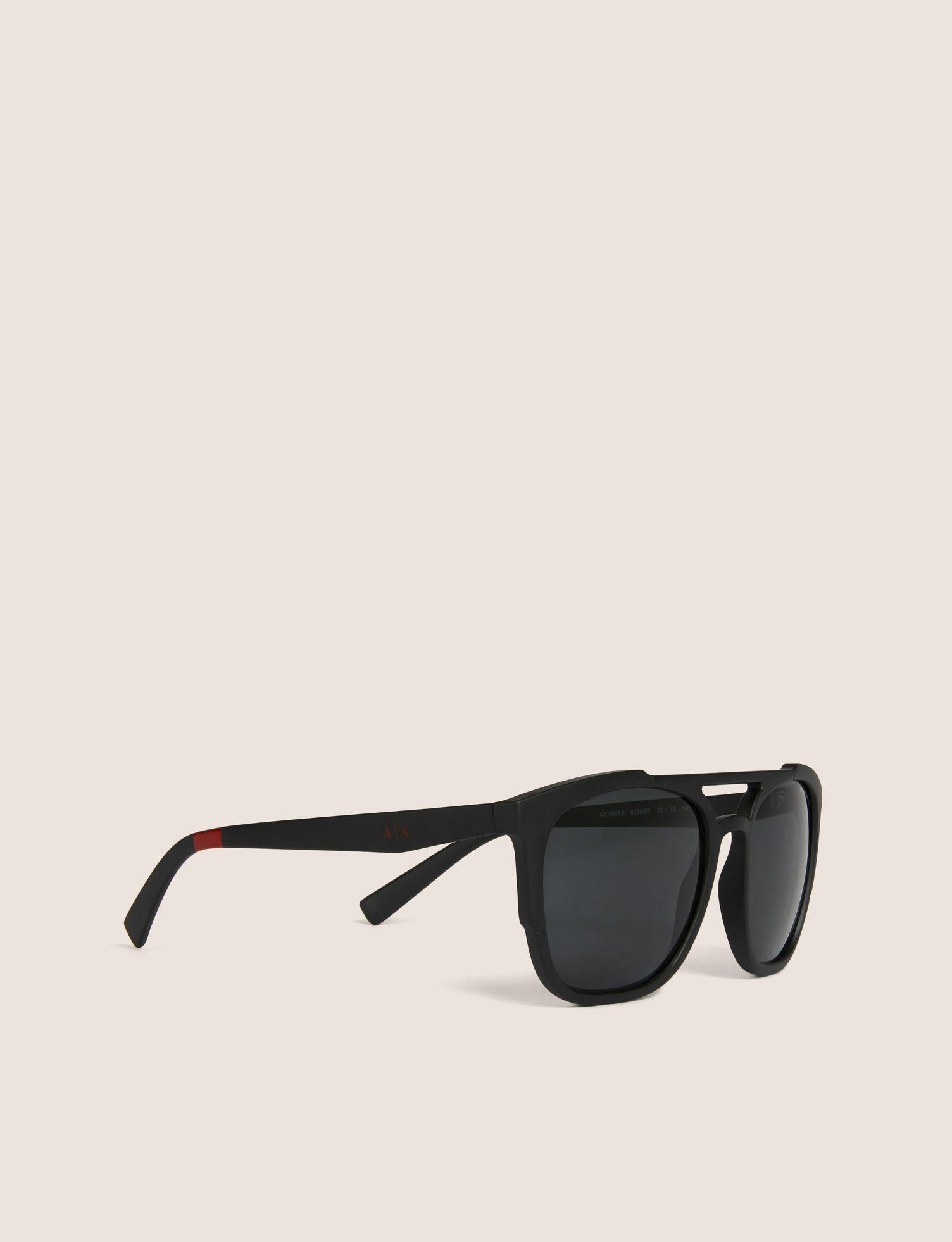 dc5c91ac3a5a Lyst - Armani Exchange Sunglass in Black for Men