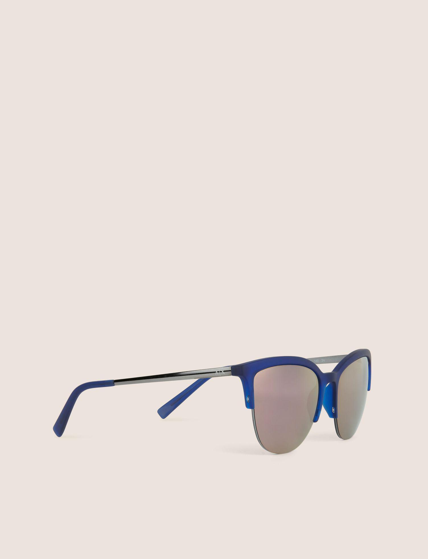 6f7638819d3 Lyst - Armani Exchange Sunglass in Blue
