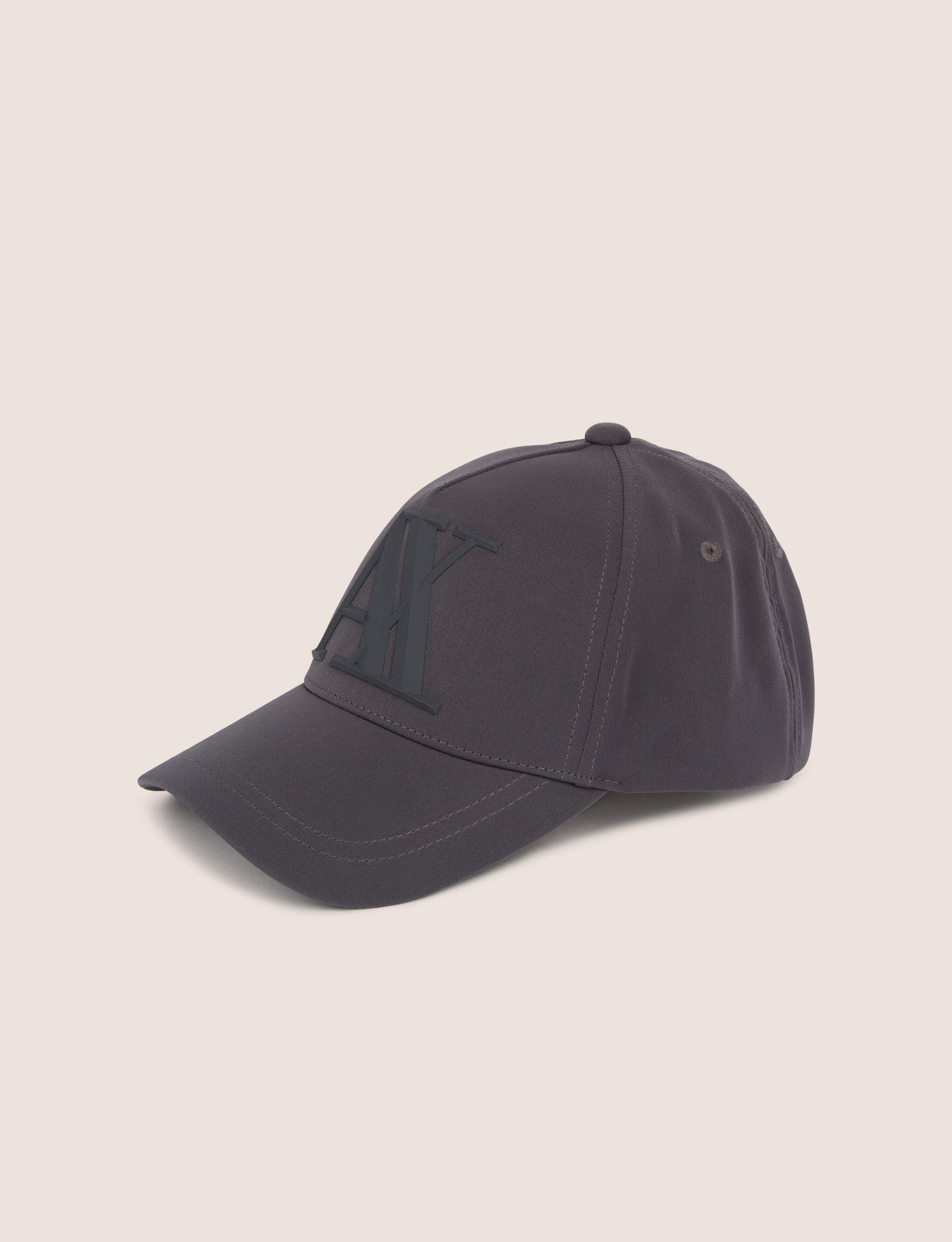 3e32c6c5 Lyst - Armani Exchange Rubber Logo Hat in Gray for Men
