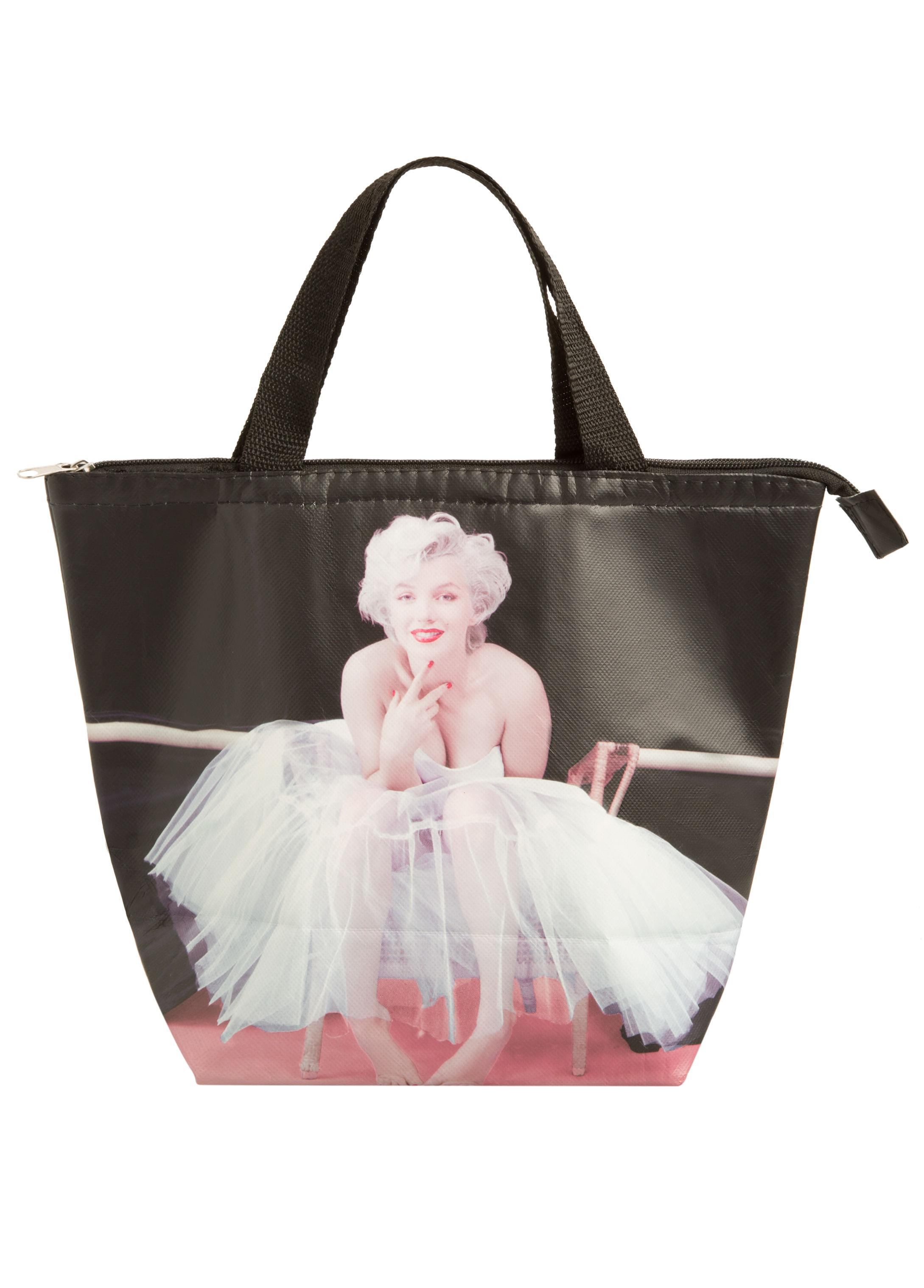 42cae87d8a Lyst - Ashley Stewart Be Joyful Marilyn Monroe Lunch Tote in Black