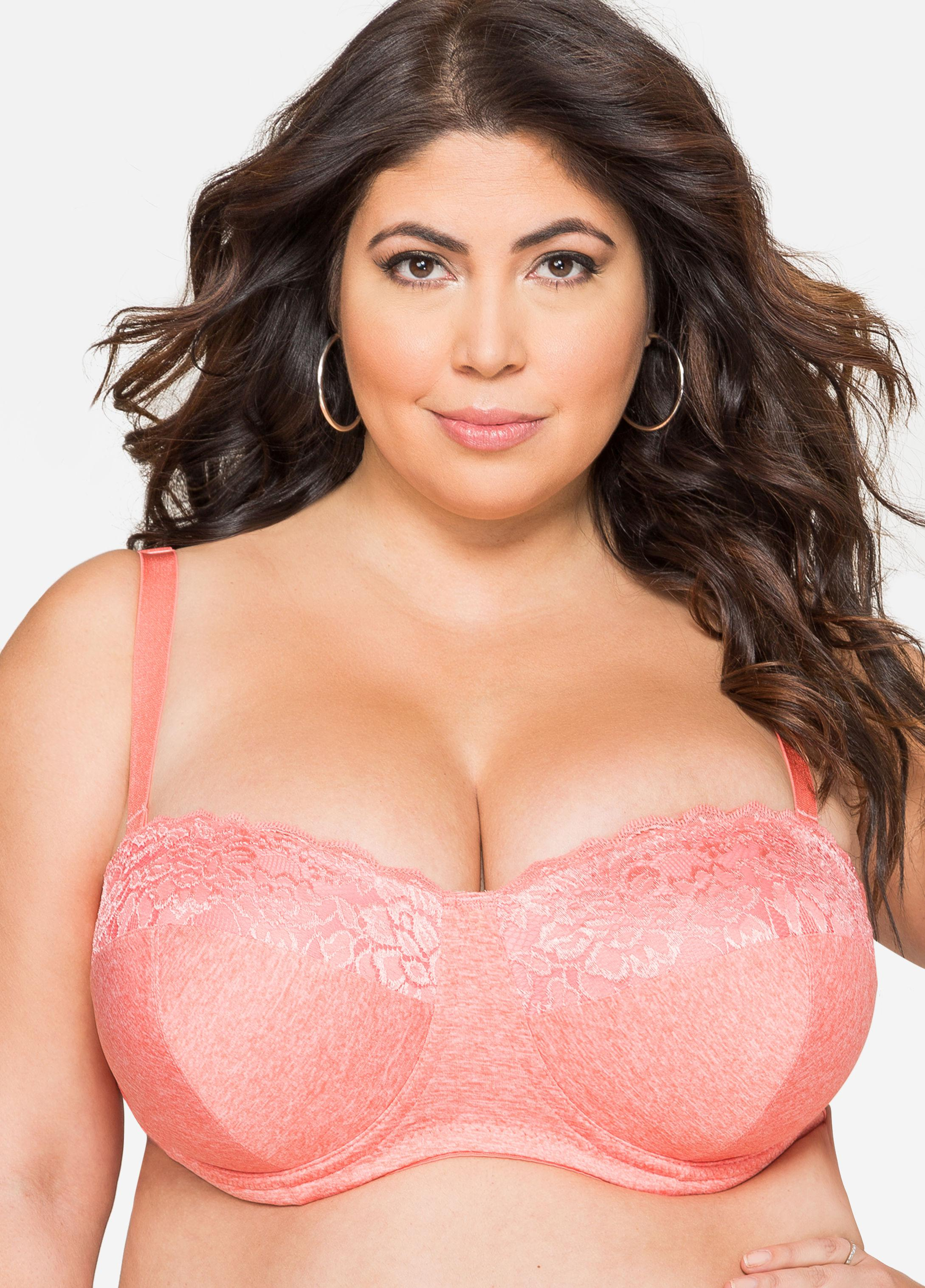 afdc81a8d9f97 Lyst - Ashley Stewart Convertible Butterfly Bra in Pink