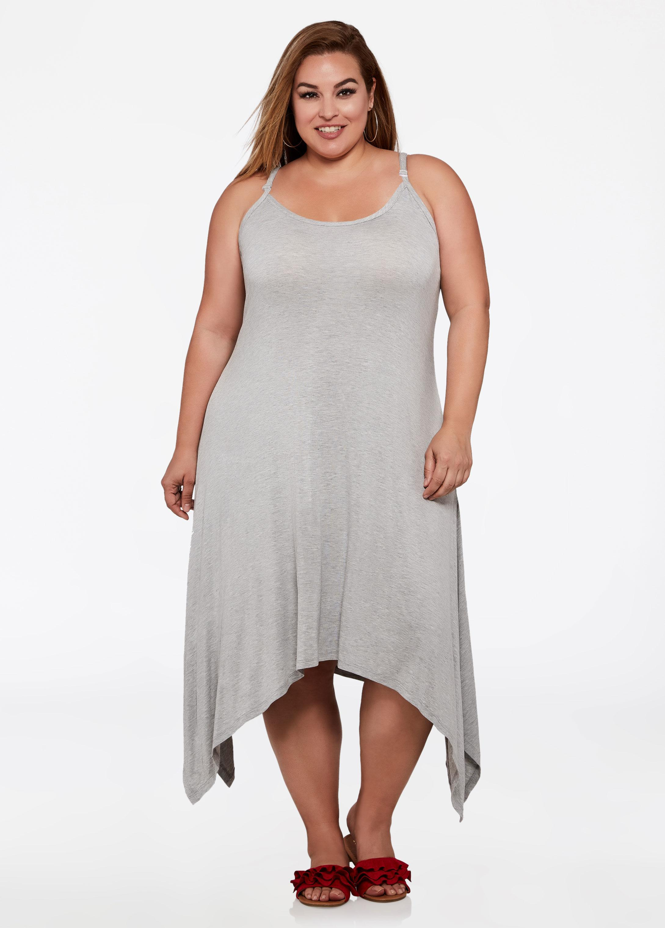87702b6c1cb Gallery. Previously sold at  Ashley Stewart · Women s Summer Dresses ...