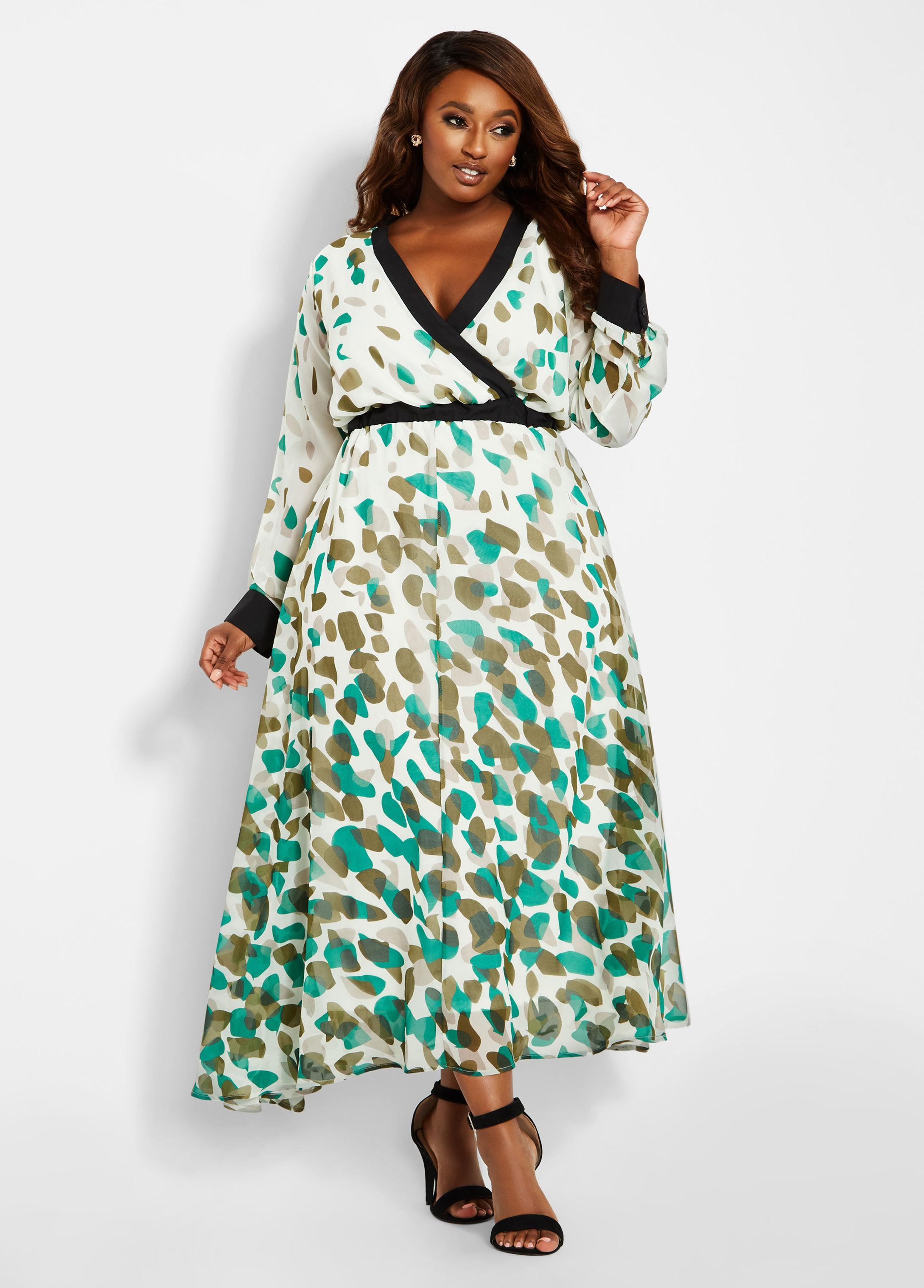 3e955ae75d Plus Size Maxi Dresses Ashley Stewart