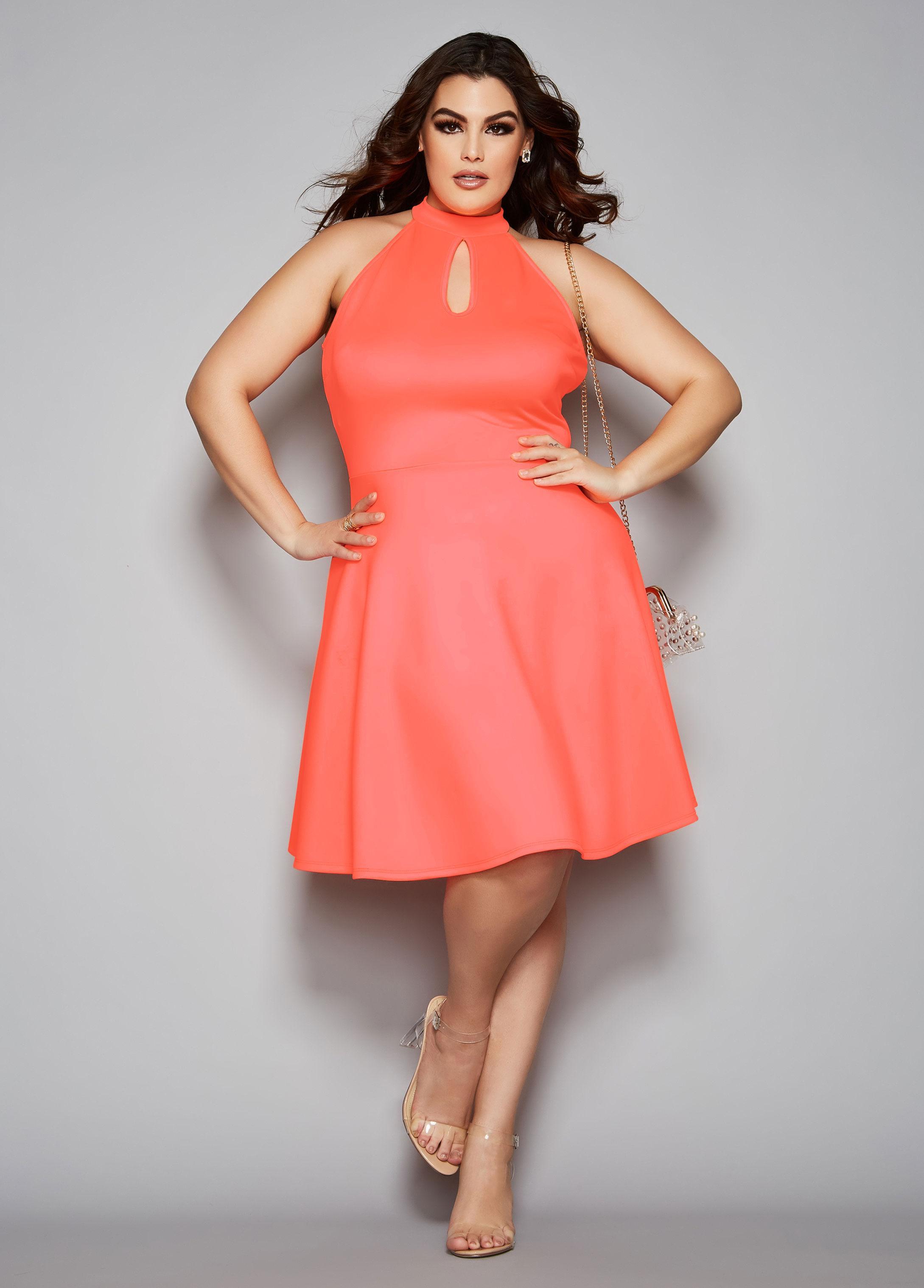 b31c743670 Lyst - Ashley Stewart Plus Size The Bailey Dress in Pink
