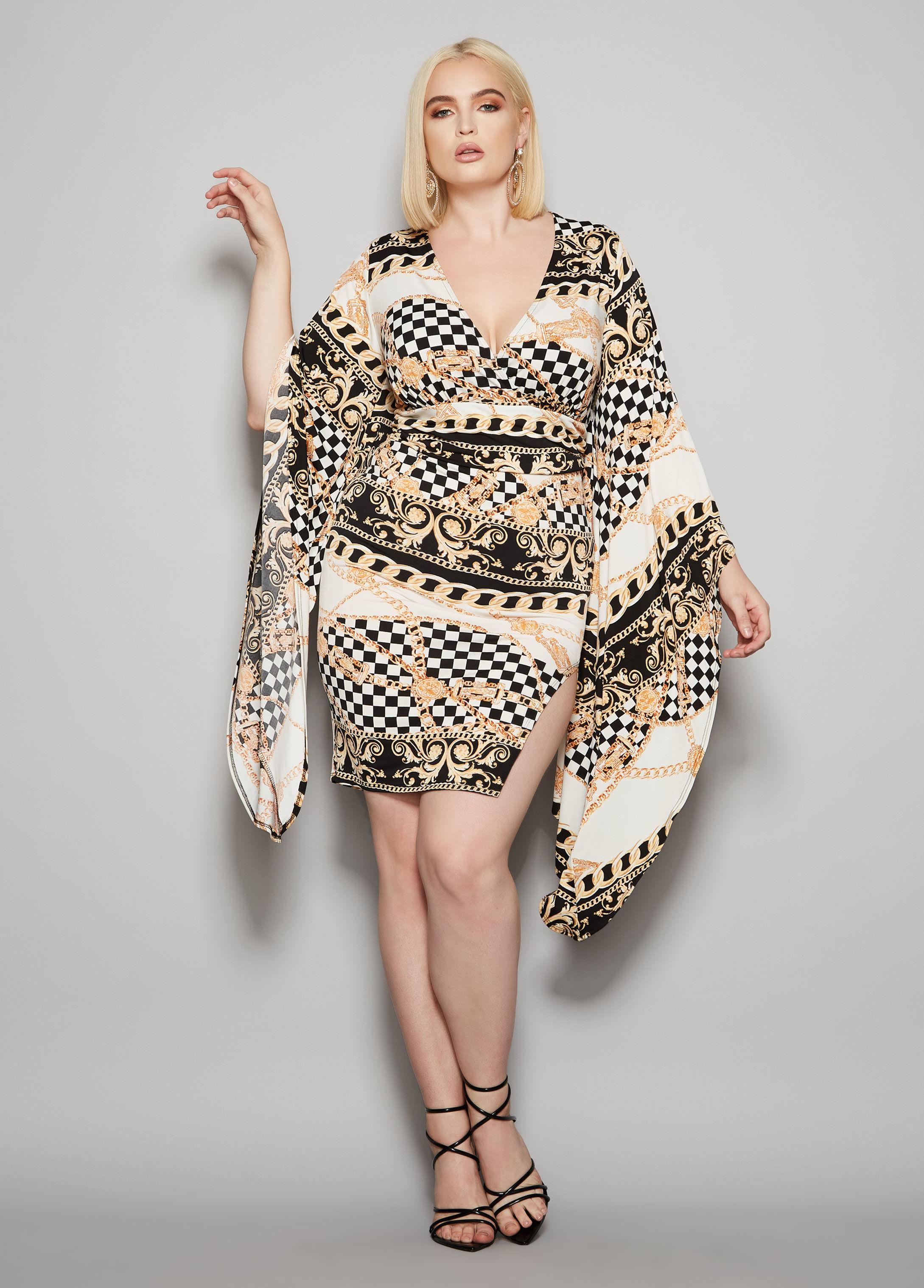 80c7d9b828 Lyst - Ashley Stewart Plus Size The Valencia Dress in White