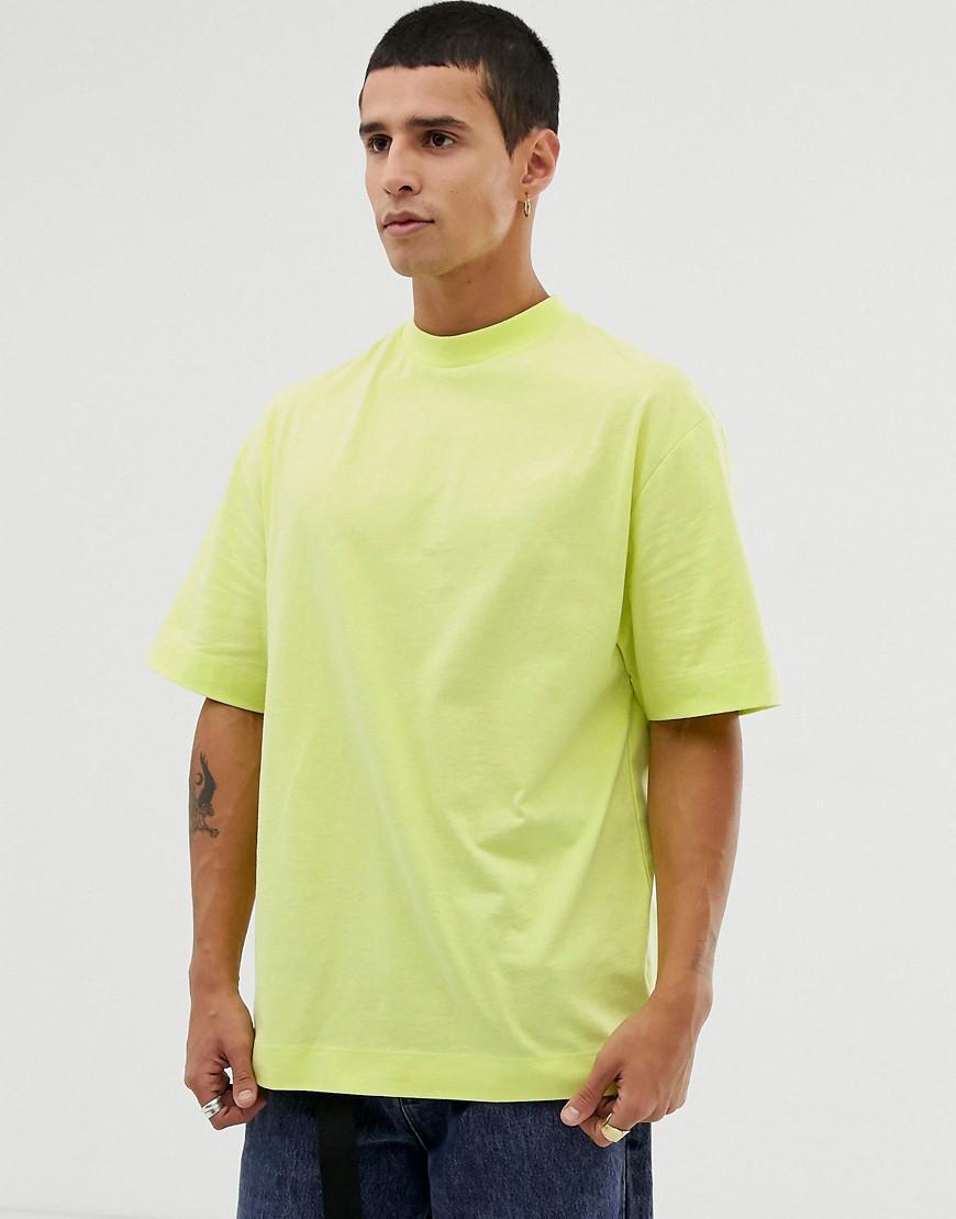 684b05a2b24 Collusion - Green T-shirt In Lime for Men - Lyst. View fullscreen