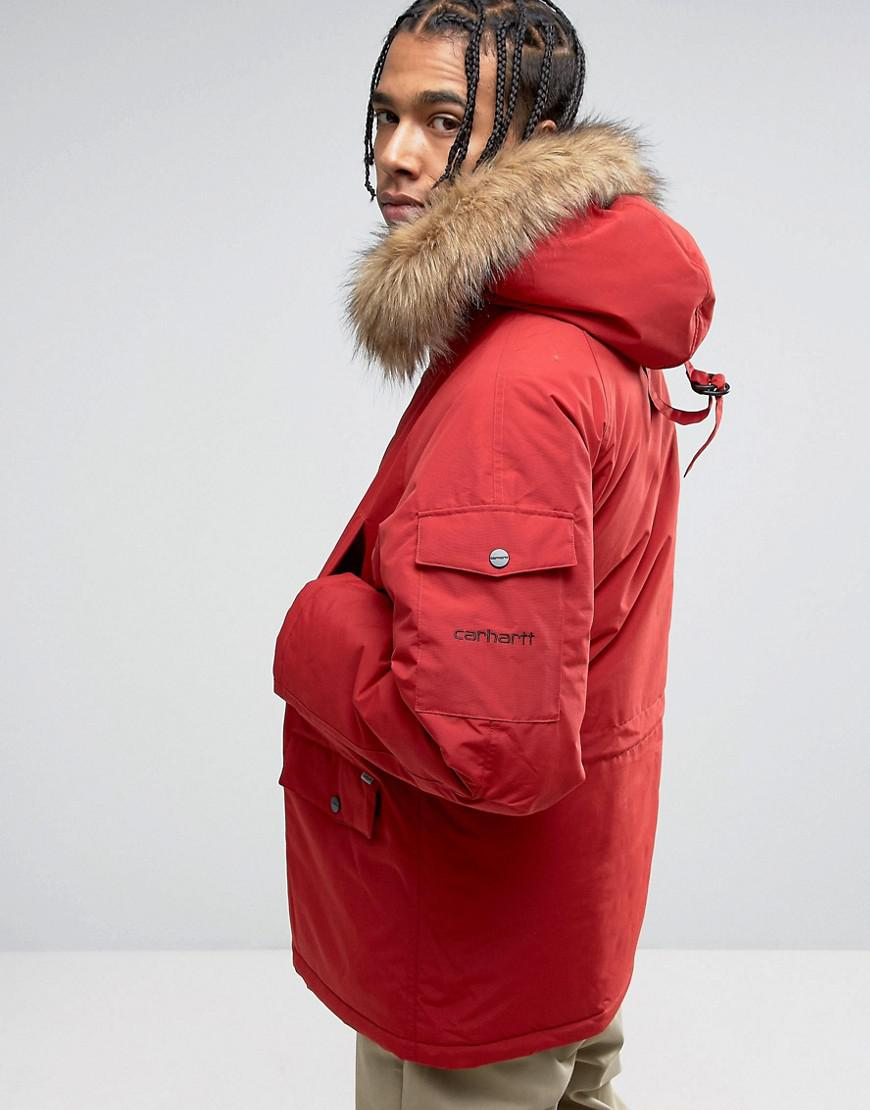 arriving to buy classic shoes Anchorage Parka In Red
