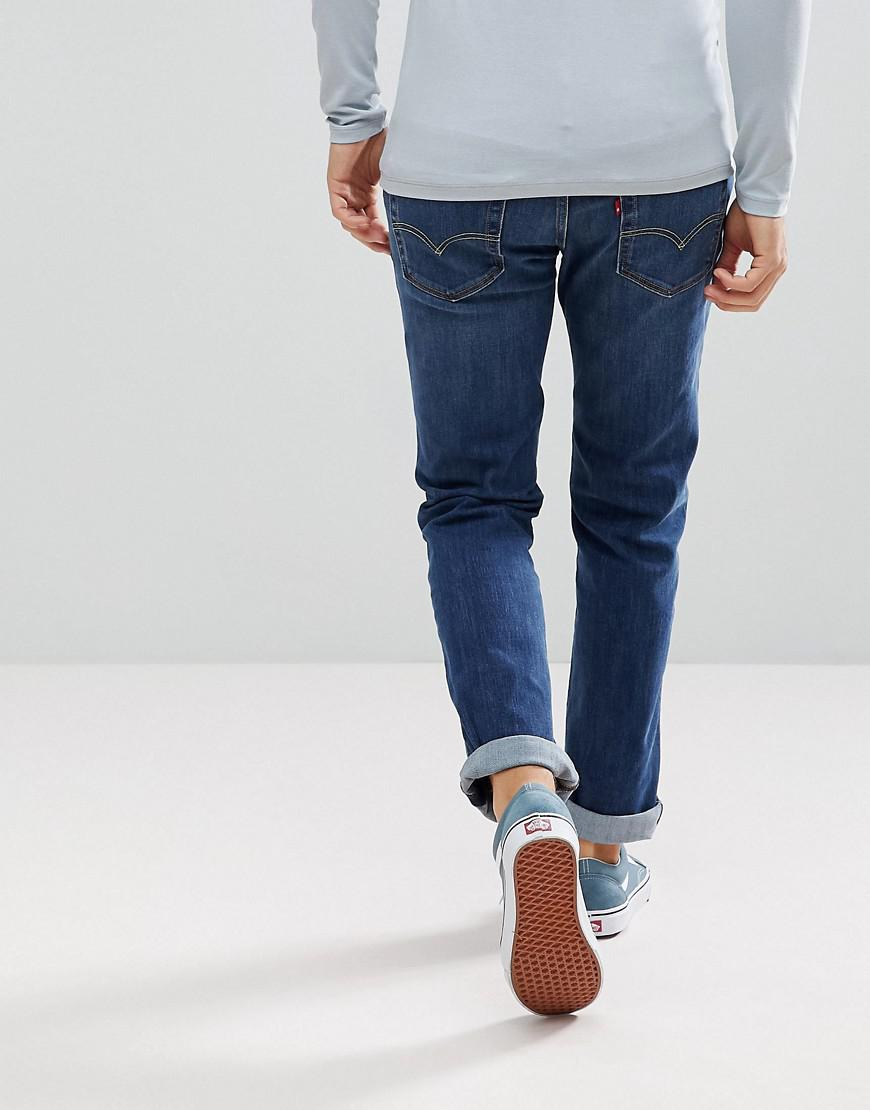 Levi's Denim Levi's 511 Slim Fit Jeans Crocodile Adapt in Blue for Men