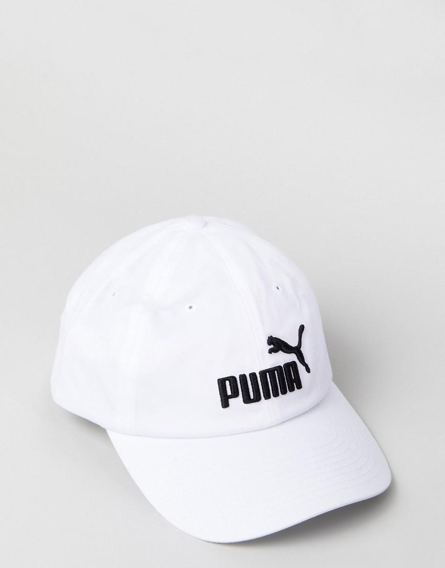 6edb72705fb ... france lyst puma essentials cap in white 05291910 in white for men  a2616 53479