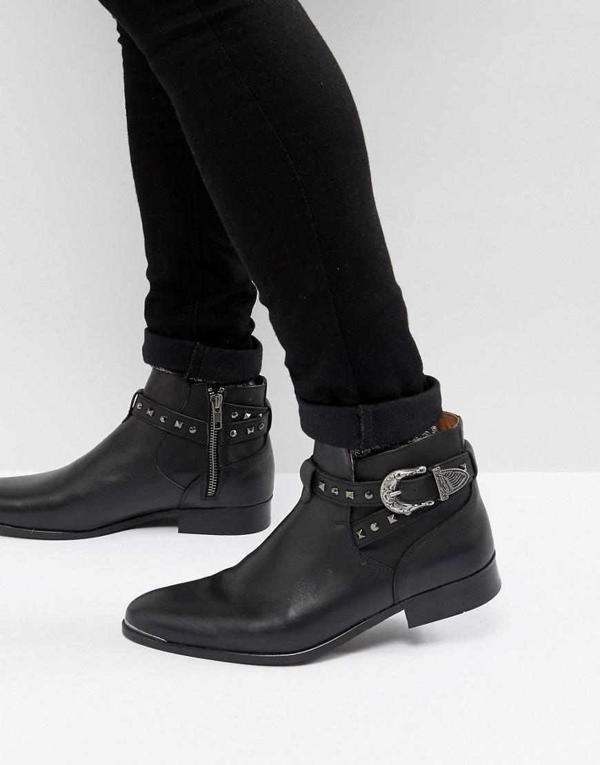 5c8377dc5f house-of-hounds-Black-Axel-Leather-Buckle-Boots-In-Black.jpeg