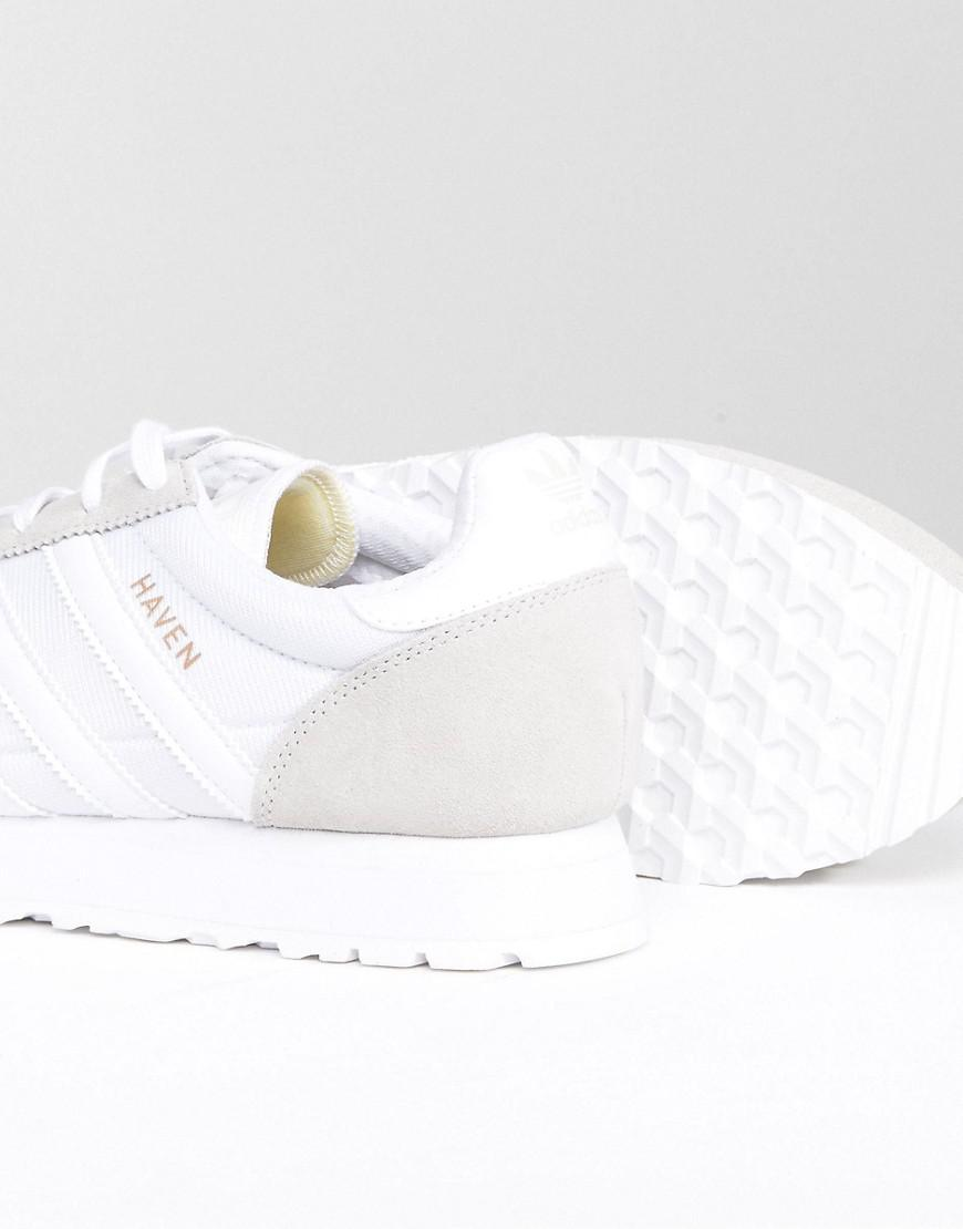 e13d69fa706 Lyst - adidas Originals Haven Sneakers In White By9718 in White for Men