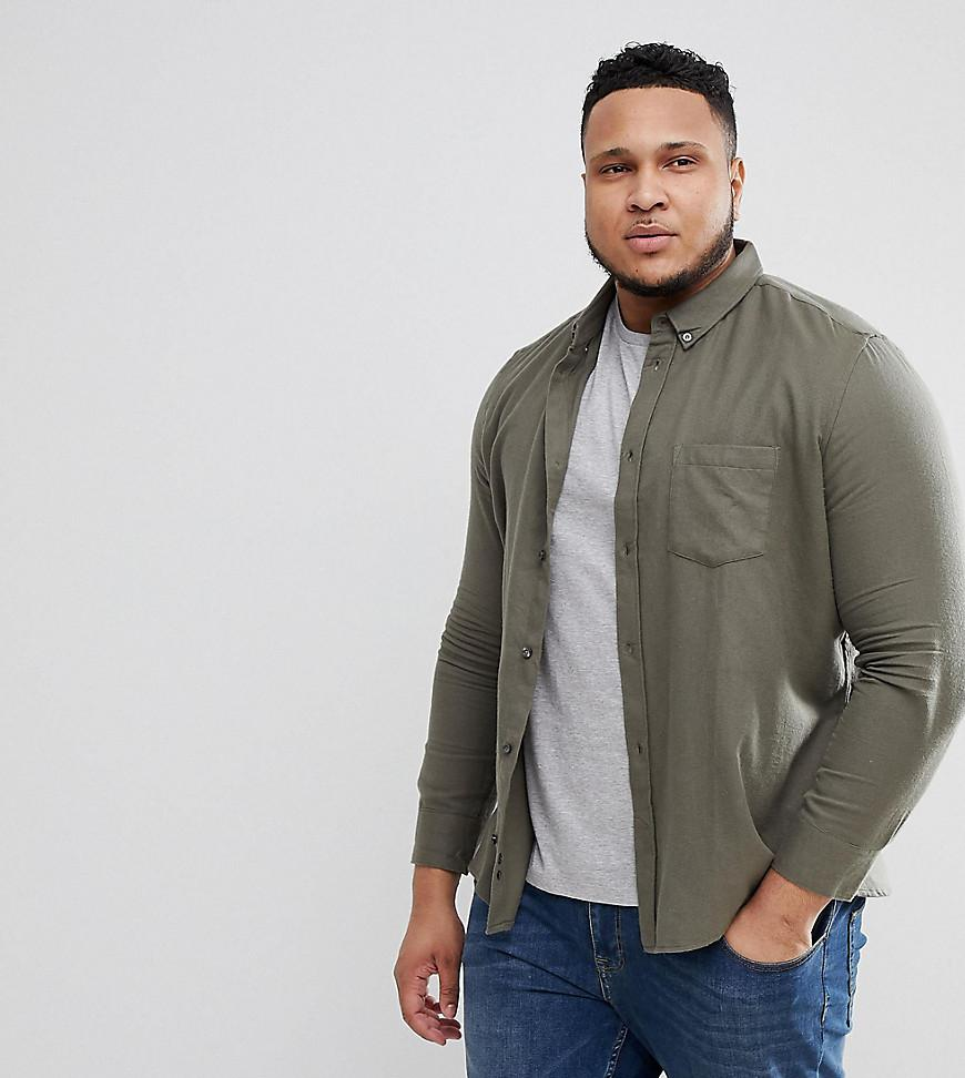 Marketable Buy Cheap Top Quality TALL Flannel Plain Shirt - Navy French Connection usugWdT