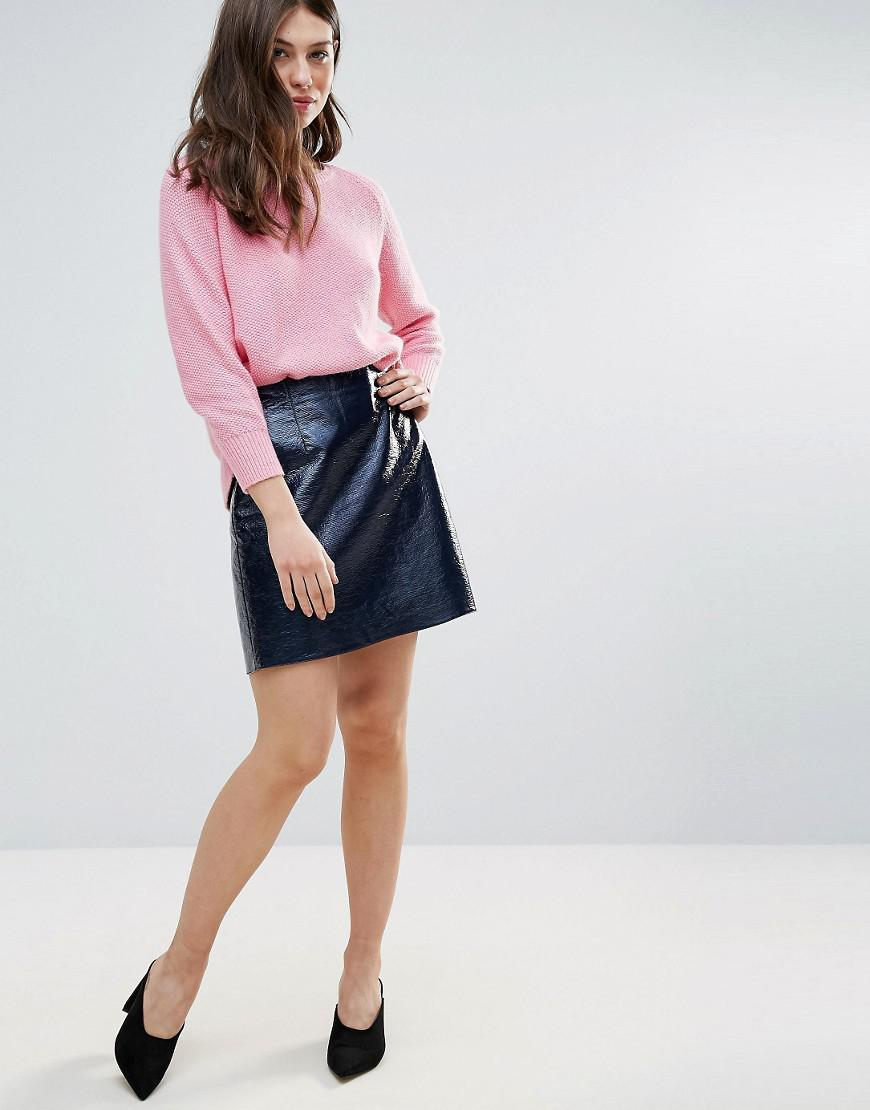 Arctic Gloss Mini Skirt - Phantom French Connection Release Dates For Sale Cheap Sale Discounts Cheap Visit New Many Kinds Of For Sale Discount Find Great kWs9ke6a
