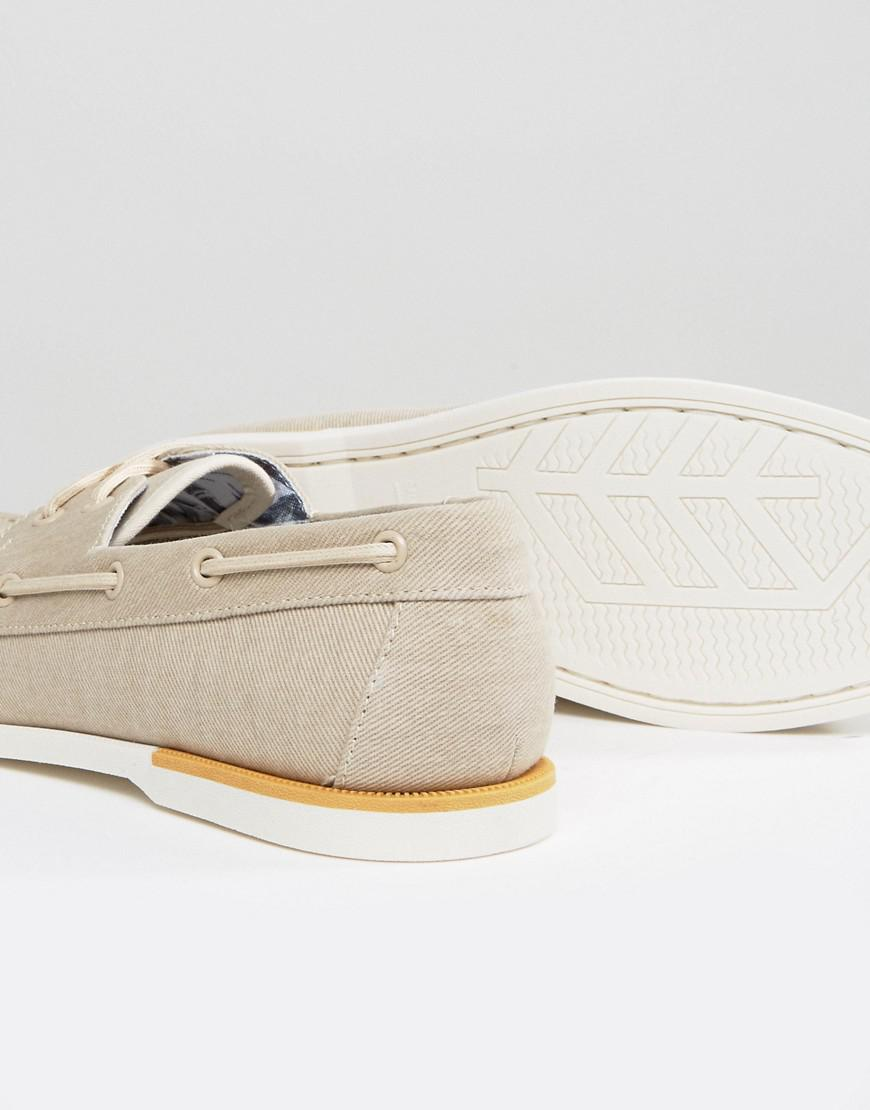 Call It Spring Meriwen Canvas Boat Shoes for Men