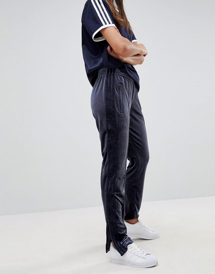 ecbbc65baf0 adidas Originals Originals Firebird Track Pant In Navy Velvet in ...