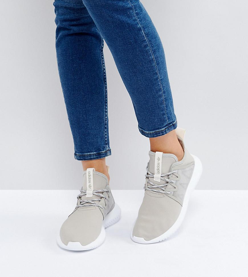 adidas originali originali tubulare virale in grigio in scarpe da ginnastica