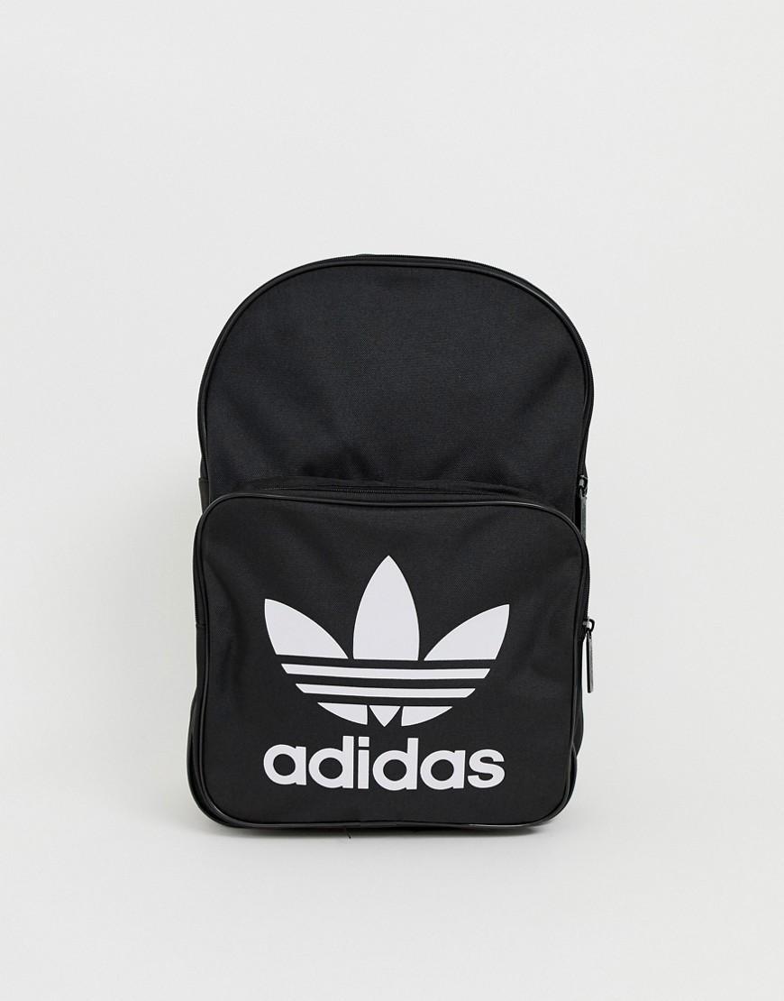 b9985dadf2e9 adidas Originals Trefoil Backpack In Black in Black for Men - Lyst