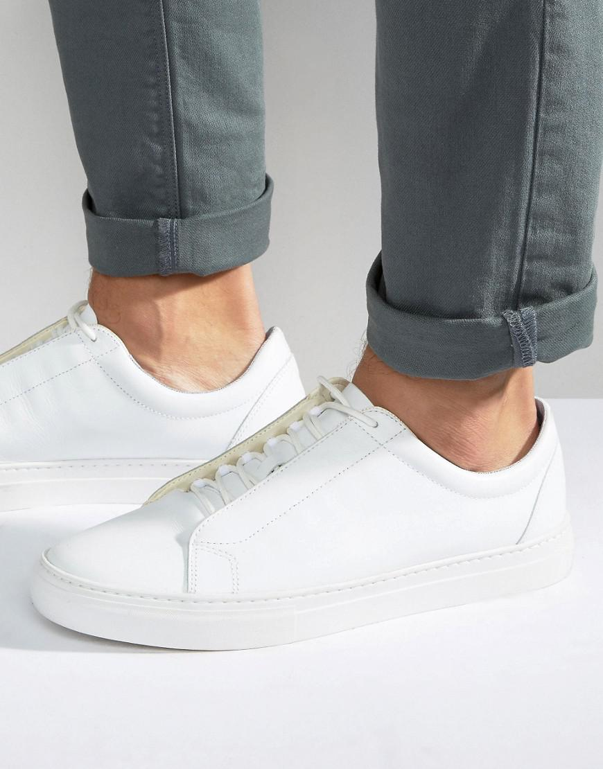 Vagabond Paul Leather Sneakers in White