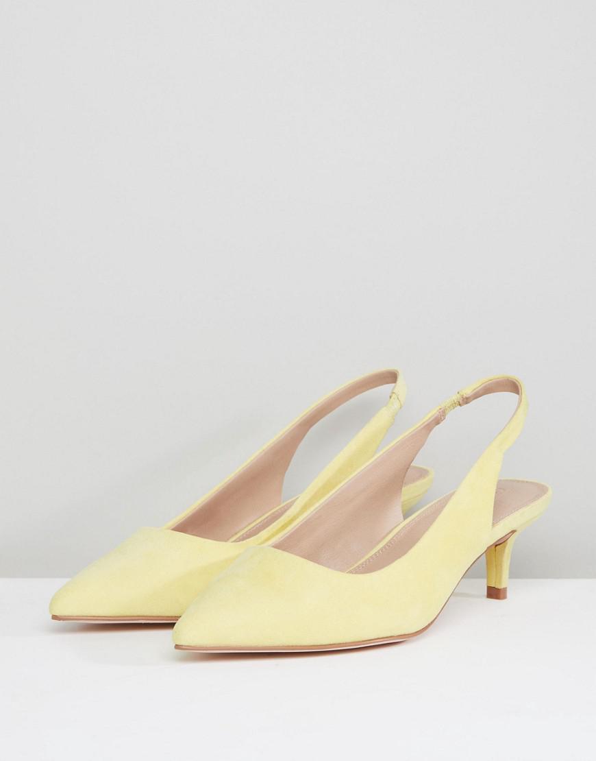 SPIRIT - Chaussures pointure large à petit talon avec bride arrière ASOS