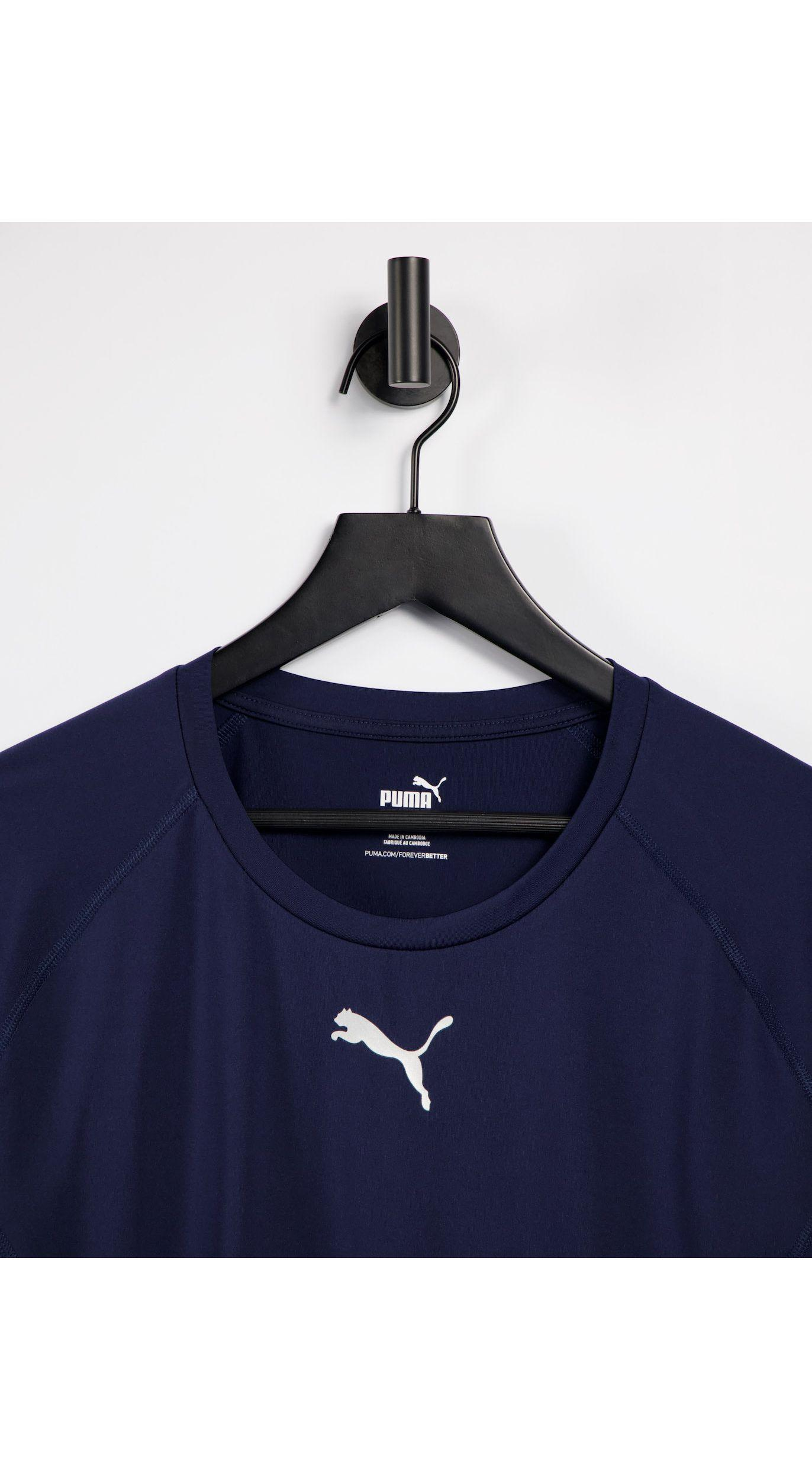 PUMA La Liga Long Sleeve Baselayer T-shirt in Navy (Blue) for Men ...