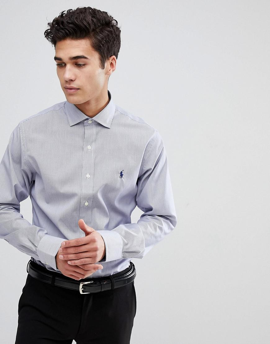 7c2fb1f38ae Polo Ralph Lauren Slim Fit Pique Shirt Solid Player Stretch