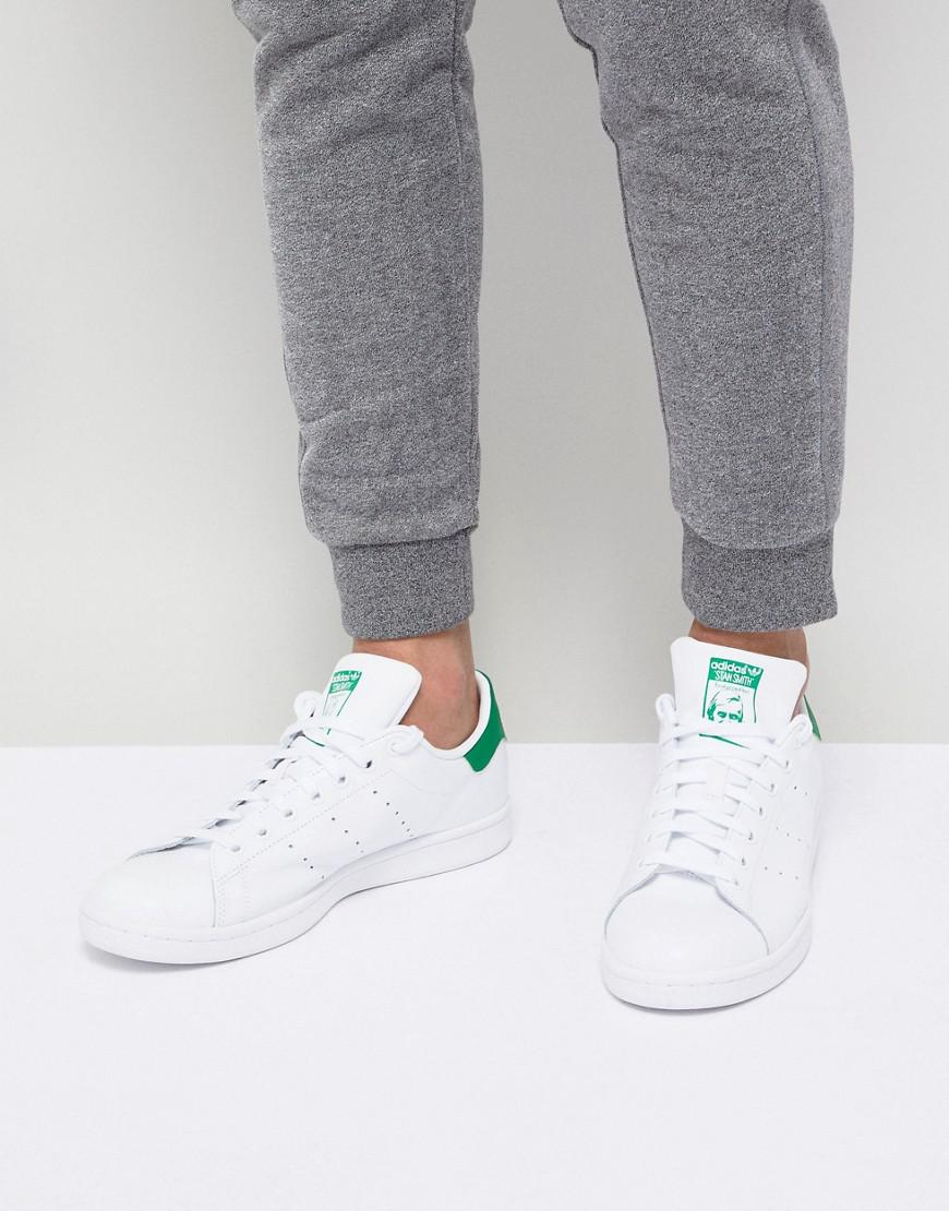 67be33492a27 adidas Originals Stan Smith Leather Sneakers In White M20324 in ...