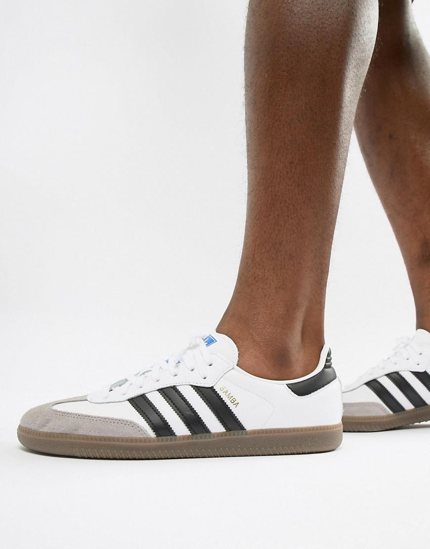 118d25afe2d5c8 adidas Originals Samba Og Sneakers In White B75806 in White for Men ...