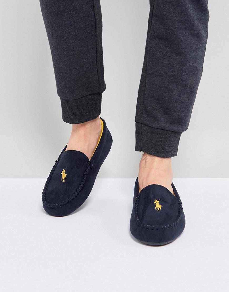 Ralph Lauren Dezi Moccasin Slippers in