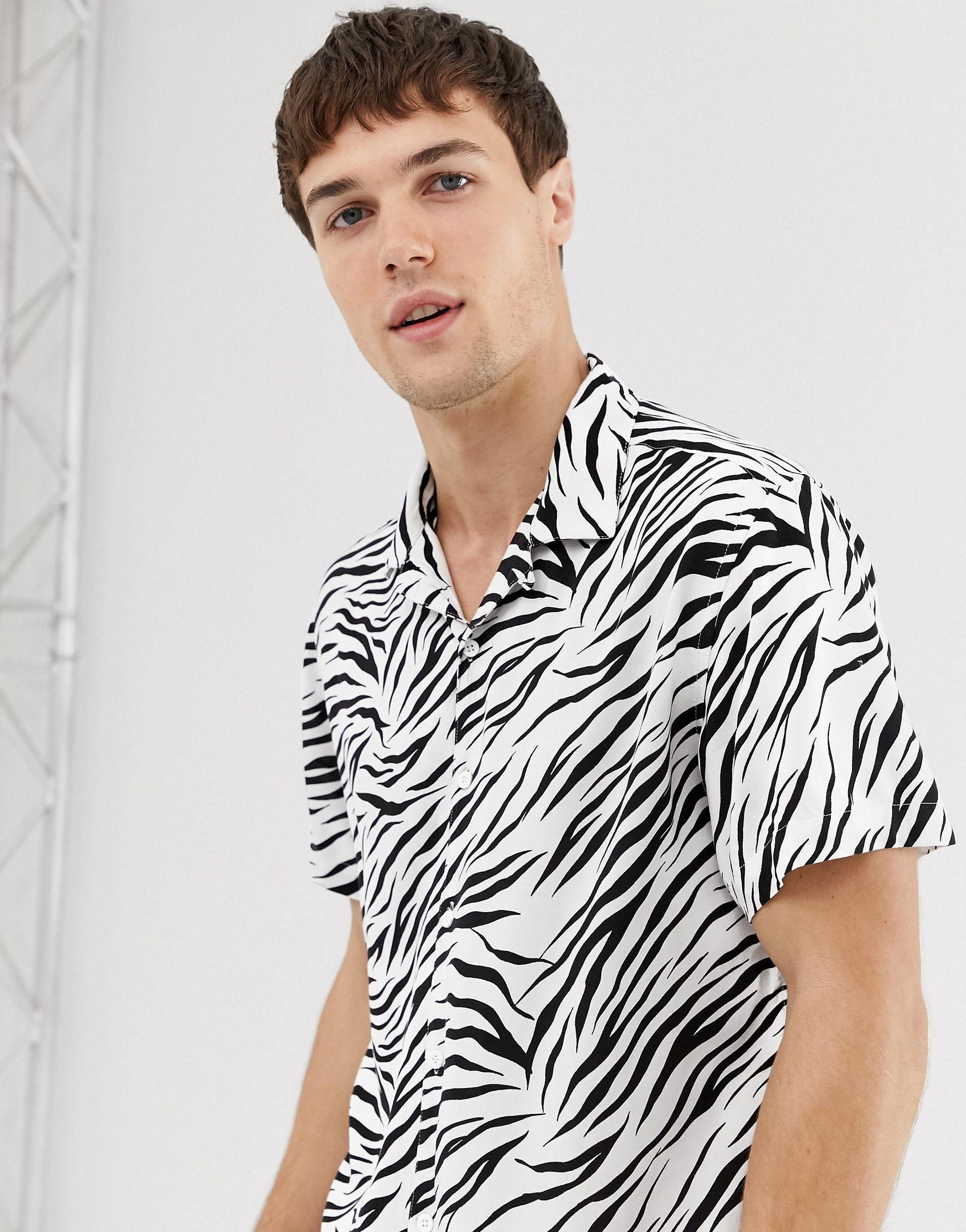 Mens Fun Party Shirt Collection Summer Casual Shirt 100/% Cotton Top Brave Soul