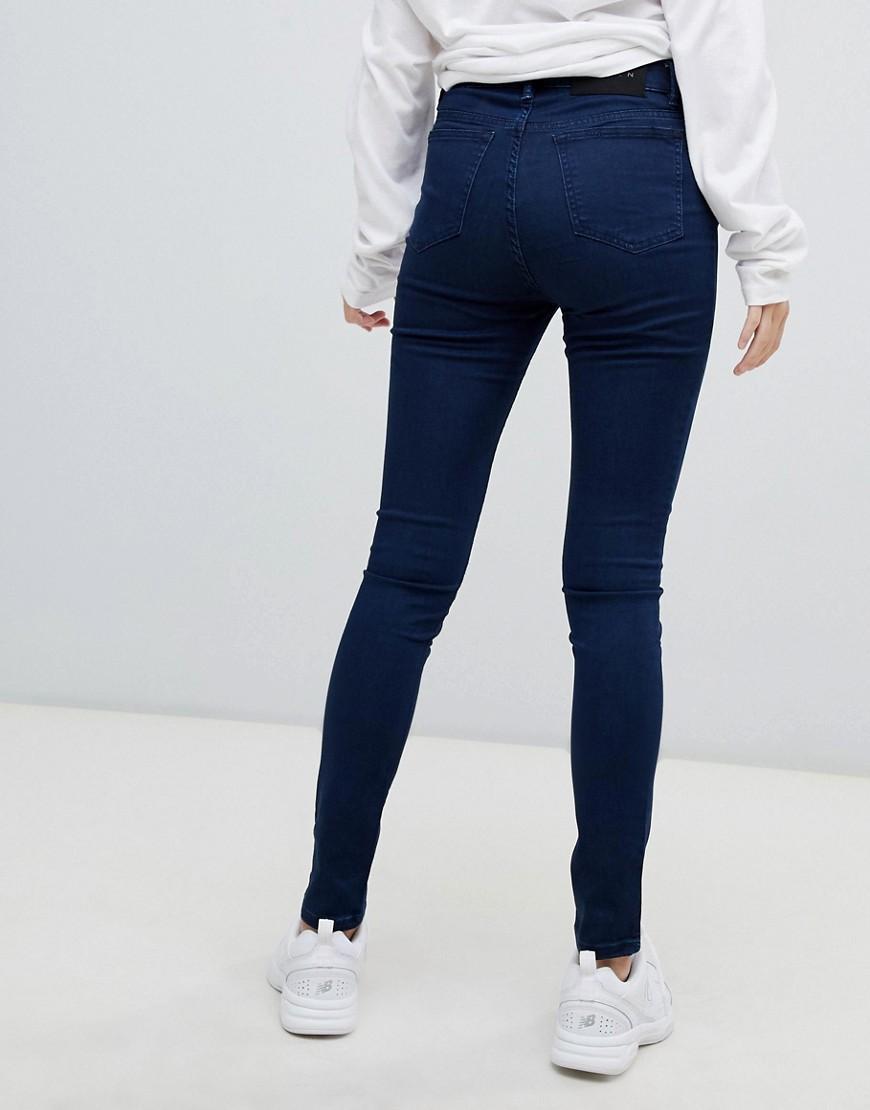 Asa - Jean skinny taille mi-haute Jean WÅVEN en coloris Noir