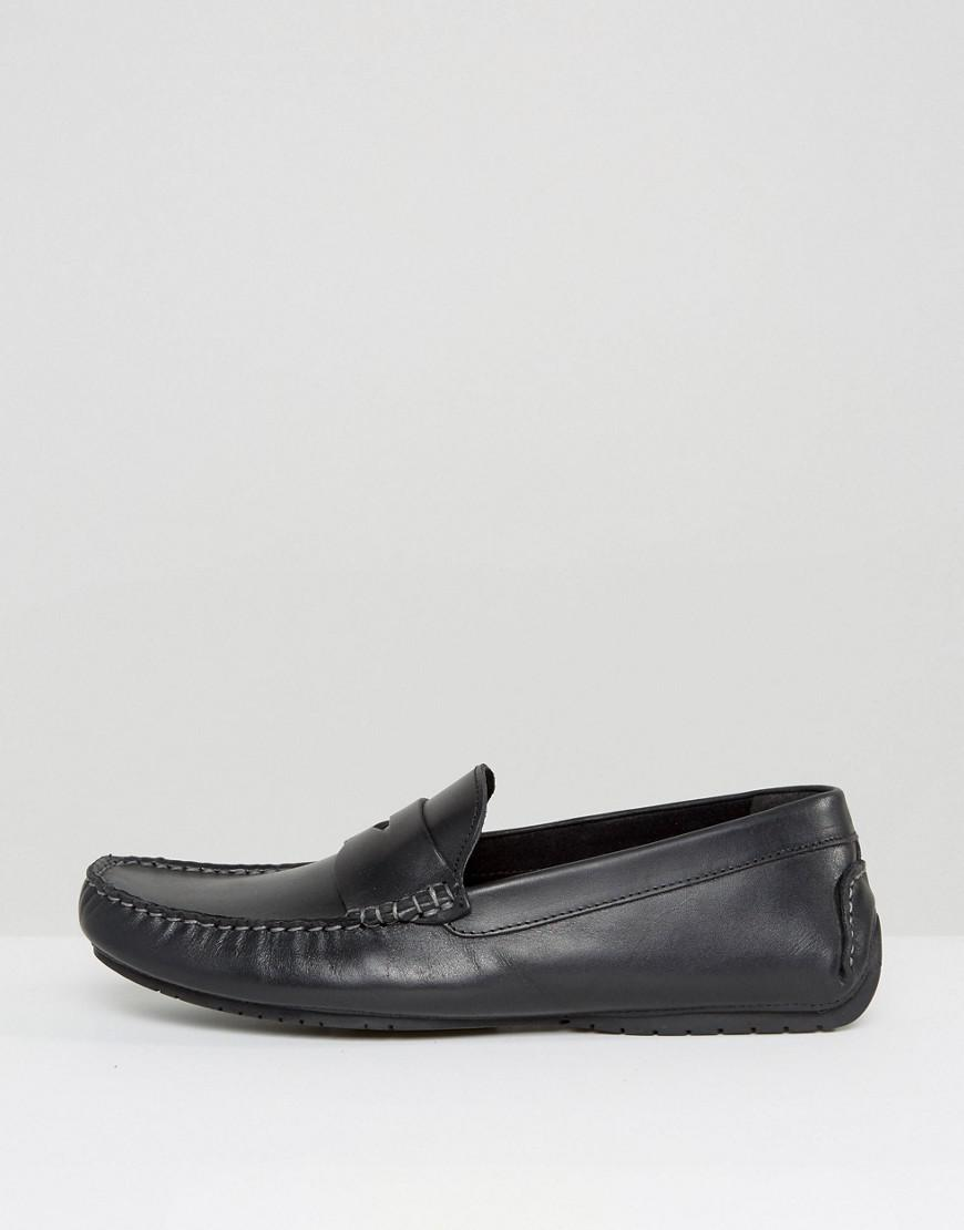 Asos Driving Shoes Black