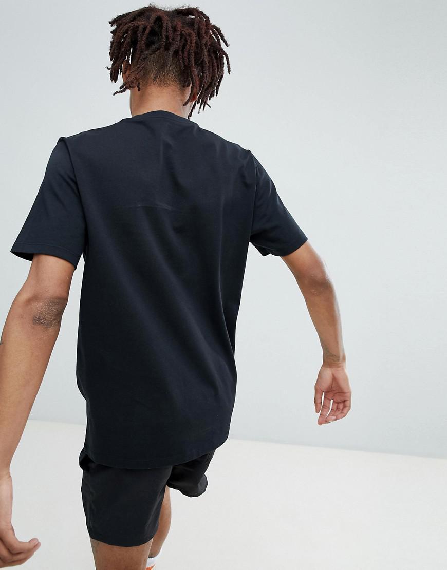 Converse X Golf Le Fleur T Shirt In Black 10009038 A01 In Black For