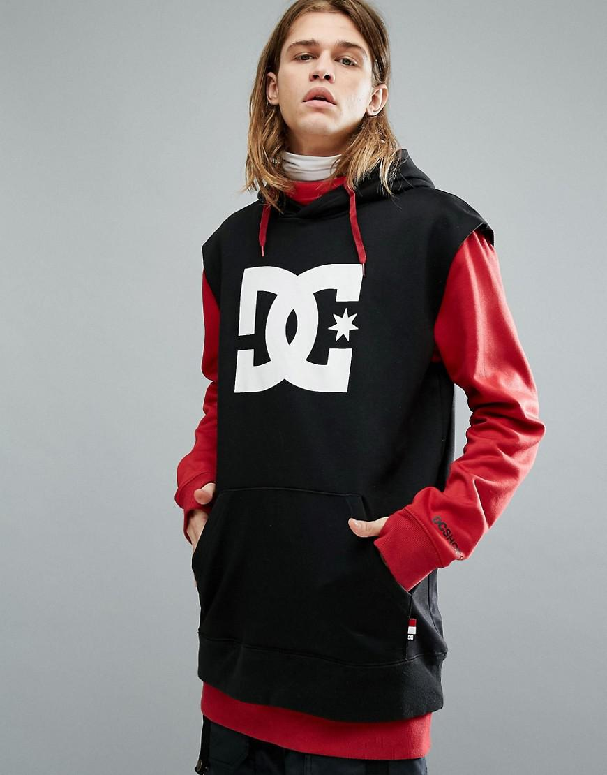 c113227fff DC Shoes Snow Dryden Hoodie With Double Layered Body In Red in Red ...