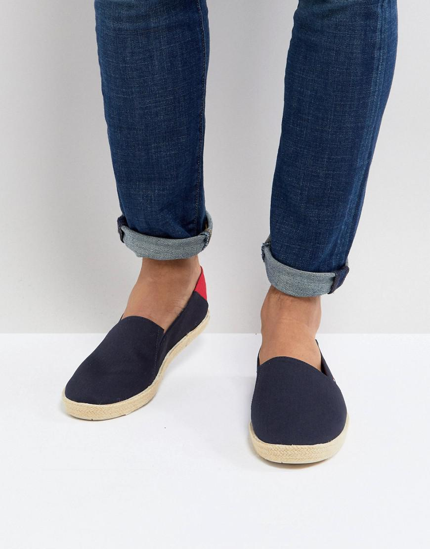 Tommy Hilfiger Easy Summer Mesh Slip On Espadrilles in Black cheap sale footaction ElLIpzYL8p