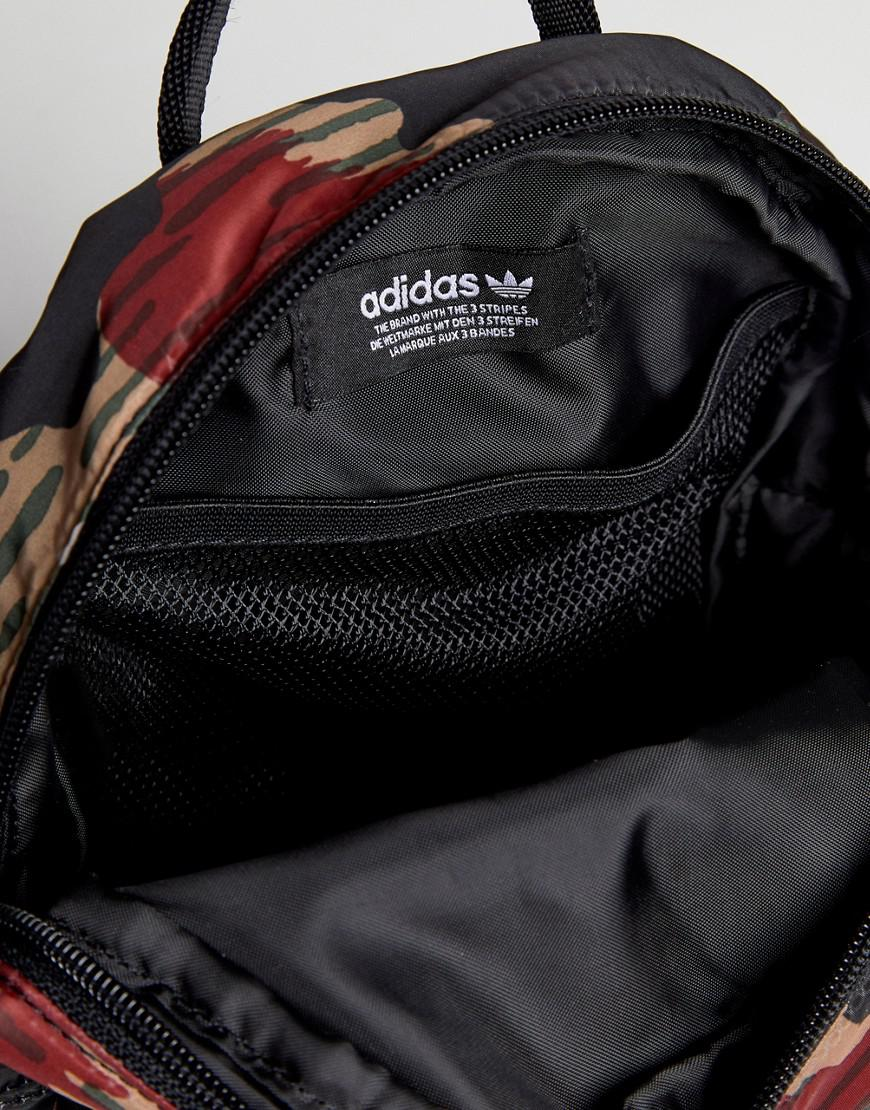 b787ae4226 Lyst - adidas Originals X Pharrell Williams Hu Camo Mini Backpack