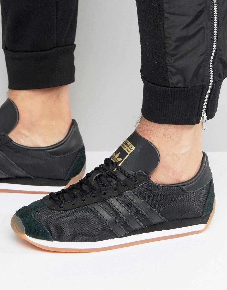 adidas Originals Leather Adidas Original Country Og Sneakers in ...